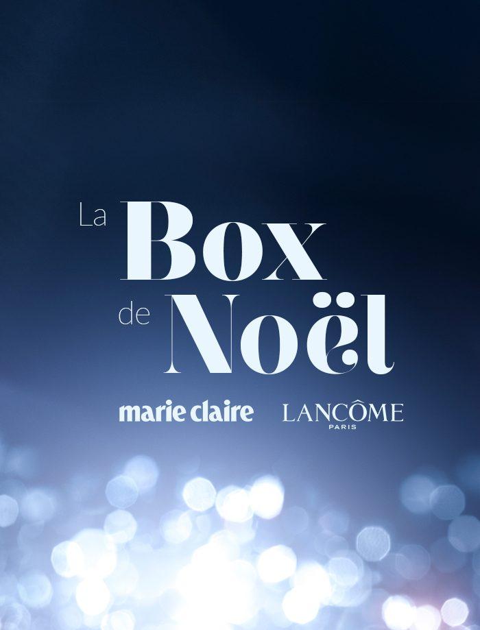 Boxe de noël par Marie Claire et Lancôme